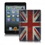 New Retro UK Flag Smooth Snap-On Hard Case Skin Cover til iPad Mini