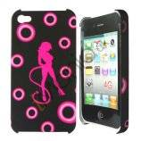 iPhone 4 / 4S cover Pink danser