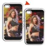 iPhone 4 3D cover med bikerchick
