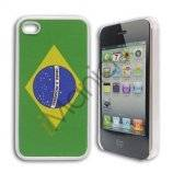 iPhone 4 / 4S cover med Brasiliens flag
