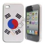 iPhone 4 / 4S cover med koreansk flag