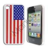 iPhone 4 / 4S cover med USA\'s flag
