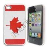 "iPhone 4 / 4S cover med canadisk flag / ""Maple Leaf"""
