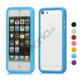 Anti-slip Silikone Ramme Bumper Case Cover til iPhone 5