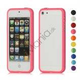 Stilfuld Plastic & TPU Combo Bumper Case Cover til iPhone 5