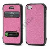 TPU Etui-Cover til iPhone 4 4S - Rose
