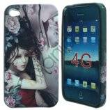 Goth Chick iPhone 4 cover nr 1